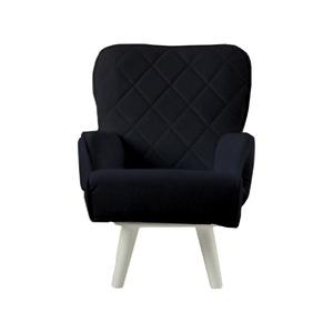 その他 Liloudecoco リルデココ 回転ローチェアー(ポケット付)ブラック 姫系 キルティング 椅子 一人掛け ソファー 高座椅子 ds-2043765