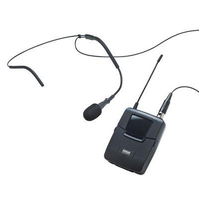 サンワサプライ ワイヤレスヘッドマイク(MM-SPAMP4/7用) MM-SPAMP4WHS