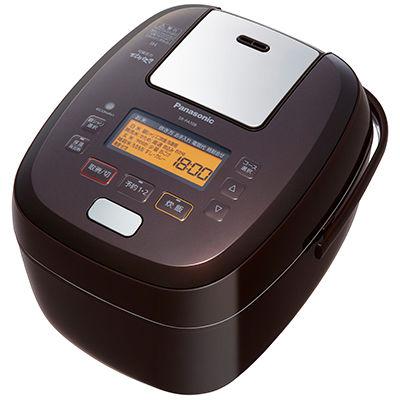 パナソニック 5.5合 可変圧力IHジャー炊飯器(ブラウン) SR-PA108-T