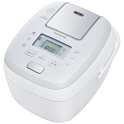 パナソニック 5.5合可変圧力IHジャー炊飯器(ホワイト) SR-PB108-W