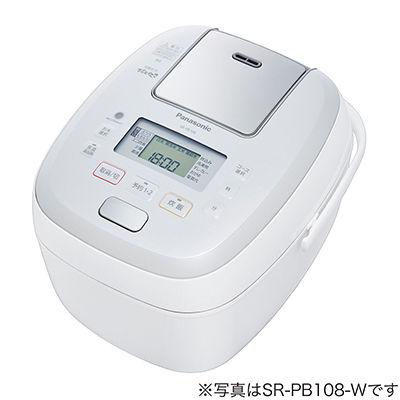 パナソニック 1升 可変圧力IHジャー炊飯器(ホワイト) SR-PB188【納期目安:約10営業日】