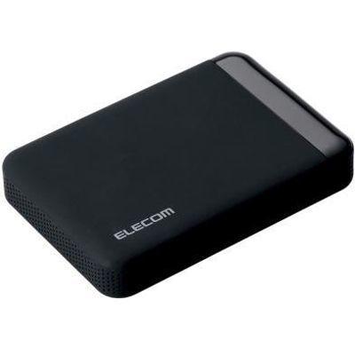 エレコム ELECOM SeeQVault Portable Drive USB3.0 1.0TB Black ELP-QEN010UBK【納期目安:06/01入荷予定】