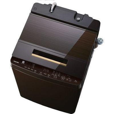 東芝 10.0kg 全自動洗濯機 ZABOON (グレインブラウン) AW-10SD7-T【納期目安:2週間】