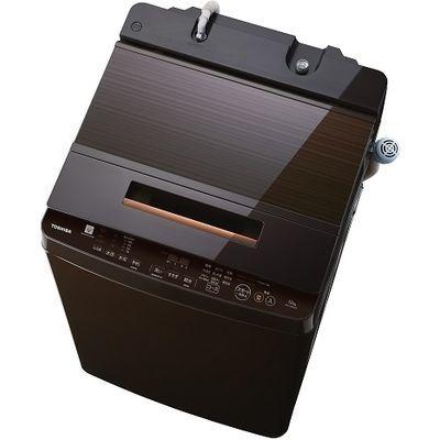 東芝 12kg 全自動洗濯機 ZABOON(グレインブラウン) AW-12XD7-T【納期目安:1ヶ月】