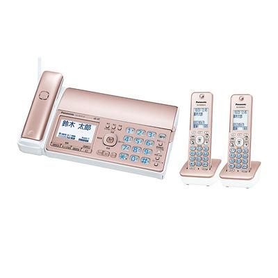 パナソニック デジタルコードレス普通紙ファクス(子機2台付き) (ピンクゴールド) (KXPD515DWN) KX-PD515DW-N【納期目安:1ヶ月】