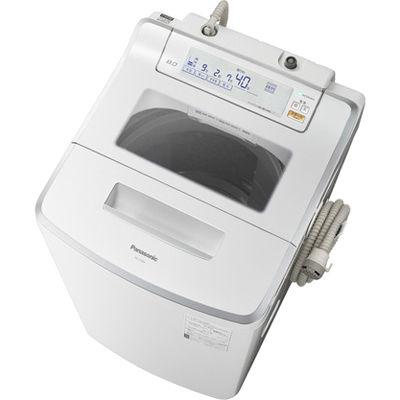 パナソニック 全自動洗濯機(洗濯8.0kg) クリスタルホワイト NA-JFA805-W【納期目安:2週間】