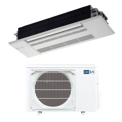 三菱電機 シングルエアコン1方向天井カセット形 GXシリーズ(ホワイトパネル付)(主に18畳) MLZ-GX5617AS-W