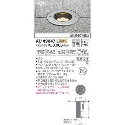 コイズミ バリードライト(LED[電球色]) AU49047L
