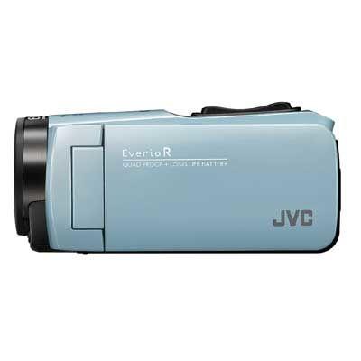 JVC ハイビジョンメモリームービー(サックスブルー) GZ-RX680-A