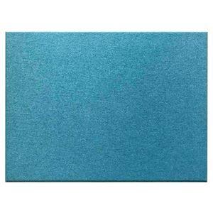 その他 吸音パネル/防音フェルトボード 【80×60cm /ブルー同色12枚セット】布貼りタイプ/45度カット Felmenon EXceed ds-2055560