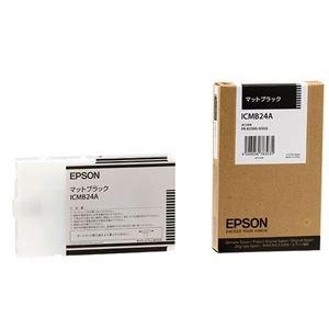 その他 (まとめ) エプソン EPSON PX-P/K3インクカートリッジ マットブラック 110ml ICMB24A 1個 【×6セット】 ds-1571924