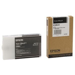 その他 (まとめ) エプソン EPSON PX-P/K3インクカートリッジ マットブラック 110ml ICMB24 1個 【×6セット】 ds-1578569