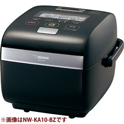 象印 圧力IH炊飯ジャー「炎舞炊き」(1升) NW-KA18-BZ