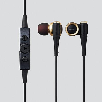 エレコム Bluetoothイヤホン/HPC1000/LDAC対応/携帯/ゴールド LBT-HPC1000MPGD