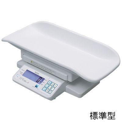 タニタ デジタルベビースケール(検定品) BD-715A 規格:標準型 (重力補正:3区仕様) 23-5491-0003【納期目安:2週間】