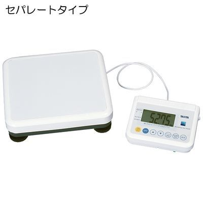 タニタ 精密体重計(検定品) WB-150 規格:セパレートタイプ (重力補正:3区仕様) 4904785017535【納期目安:追って連絡】