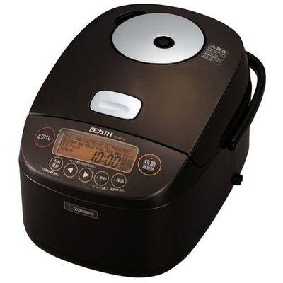 象印 1升 圧力IH炊飯器 極め炊き (ブラウン) NP-BH18-TA
