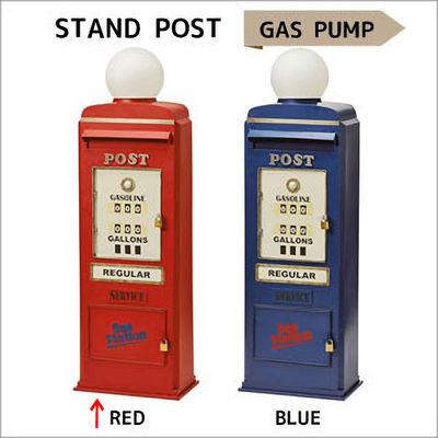 その他 スタンドポスト(GAS PUMP) SI-2858-RD-4000 (レッド) Lij146-RD