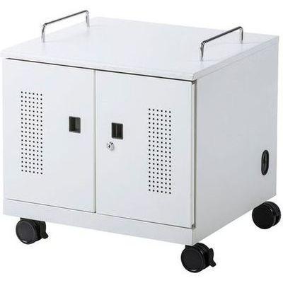 サンワサプライ ノートパソコン収納キャビネット(6台収納) CAI-CAB105W