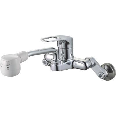 SANEI シングル切替シャワー混合栓 K27CM 13 K27CM-13