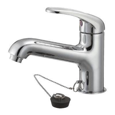 SANEI シングルワンホール洗面混合栓 K4710V 13-23 K4710V-13-23