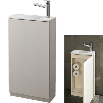SANEI 手洗キャビネット WF819 400R-WW-T5 WF819-400R-WW-T5