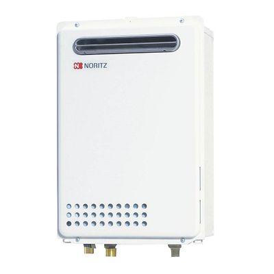 ノーリツ(NORITZ) 屋外壁掛形(PS標準設置形) 給湯専用・オートストップ24号(都市ガスタイプ)(BL対応品) GQ-2437WS_BL-13A