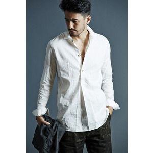 その他 VADEL swedish pull-over shirts WHITE サイズ46【代引不可】 ds-2069547