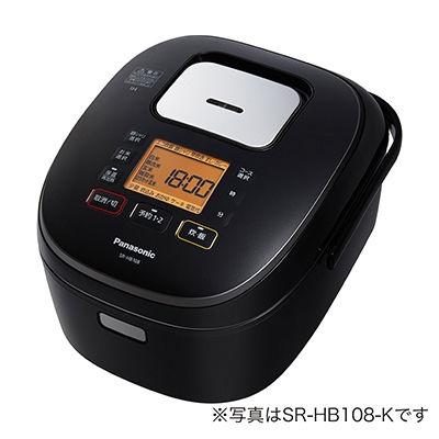 パナソニック 1升 IHジャー炊飯器(ブラック) SR-HB188-K【納期目安:3週間】