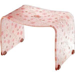 その他 【4セット】リス フィルロ シュシュ バスチェアーM コーラルピンク かわいいバスチェア・風呂椅子【代引不可】 ds-2043549