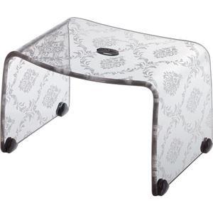 その他 【4セット】リス ファッシーナ バスチェアーS クリアグレー おしゃれなバスチェア・風呂椅子【代引不可】 ds-2043567