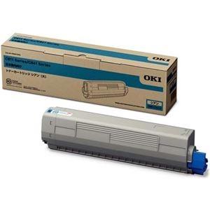 その他 OKIデータ トナーカートリッジ(大) シアン (MC8シリーズ/C8シリーズ) TNR-C3LC2 ds-2067455