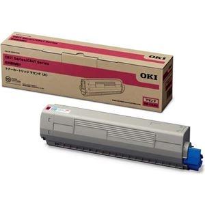 その他 OKIデータ トナーカートリッジ(大) マゼンタ (MC8シリーズ/C8シリーズ) ds-2067456
