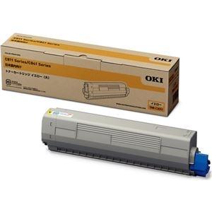 その他 OKIデータ トナーカートリッジ(大) イエロー (MC8シリーズ/C8シリーズ) ds-2067457