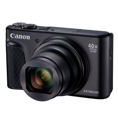 キヤノン コンパクトデジタルカメラPowerShot SX740 HS (ブラック) PSSX740HS-BK