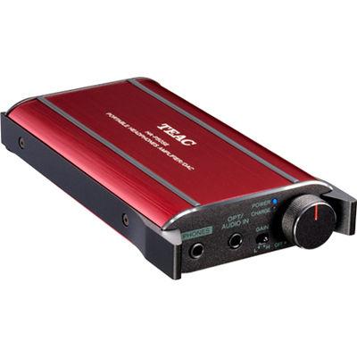 TEAC ハイレゾ対応DAC搭載ポタアンプ(レッド) HA-P50SE-R