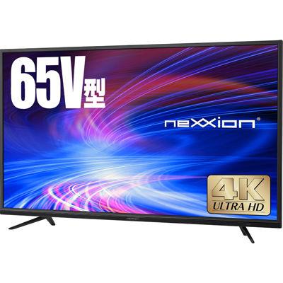 ネクシオン 65V型4K対応液晶テレビ FT-K6520B