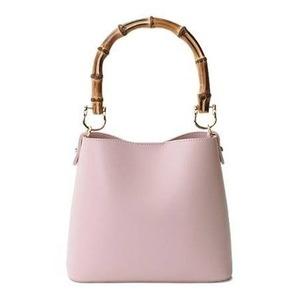 その他 持ち手がポイント♪パカッと開く出し入れ便利なハンドバッグ/ピンク ds-2078750