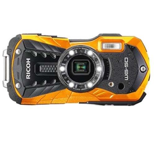 リコーイメージング リコー タフネスカメラ WG-50 オレンジ 1台 4549212299322
