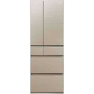 パナソニック 6ドアパーシャル搭載冷蔵庫(500L・フレンチドア) マチュアゴールド NR-F504HPX-N【納期目安:2週間】