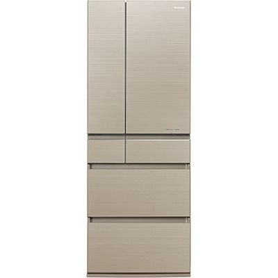 パナソニック 6ドアパーシャル搭載冷蔵庫(550L・フレンチドア) マチュアゴールド NR-F554HPX-N【納期目安:3週間】