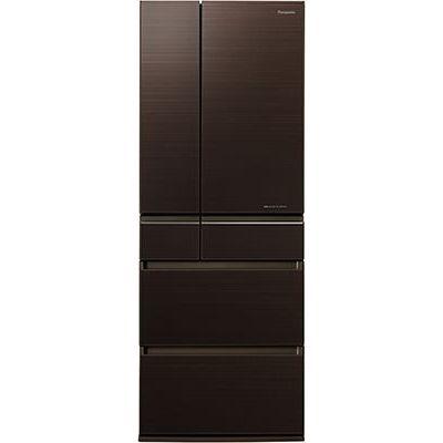 パナソニック 6ドアパーシャル搭載冷蔵庫(600L・フレンチドア) マチュアダークブラウン NR-F604HPX-T