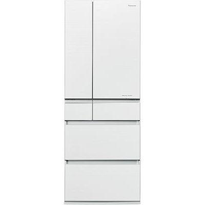 パナソニック 6ドアパーシャル搭載冷蔵庫(600L・フレンチドア) マチュアホワイト NR-F604HPX-W
