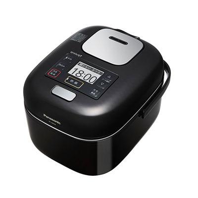 パナソニック 「銘柄炊き分けコンシェルジュ」新搭載可変圧力IHジャー炊飯器 3合炊き (シャインブラック) (SRJW058KK) SR-JW058-KK