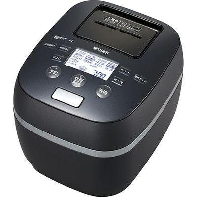 タイガー 土鍋圧力IH炊飯ジャー<炊きたて>(シルキーブラック) JPJ-A060-KS【納期目安:1週間】
