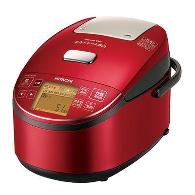 日立 5.5合炊き 圧力スチーム炊き「ふっくら御膳」IHジャー炊飯器() RZ-BV100M-R