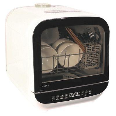 エスケイジャパン 卓上型前開きタイプ コンパクト食器洗い乾燥機(利用目安:3人分/食器点数:12点)(ホワイト) SDW-J5L-W