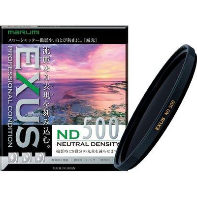 マルミ光機 マルミ EXUS ND500 減光フィルター 光量調節用 82mm 1コ入 4957638145145【納期目安:2週間】