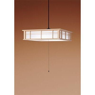 パナソニック LEDペンダントライト ~8畳 木製和紙張り 白木 HH-PD0852D【納期目安:約10営業日】