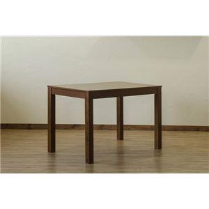 その他 フリーテーブル/センターテーブル 【ブラウン】 幅110cm 重さ18.6kg アジャスター 天然木製脚付き 〔リビング ダイニング〕【代引不可】 ds-2078818